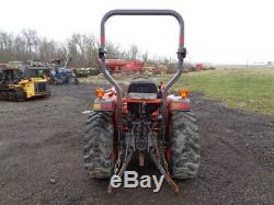 Kubota L3901 Tractor, 4WD, Hydro, LA525 Front Loader, R4 Tires, 1,221 Hours
