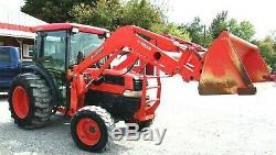 Kubota L4630 GST Tractor 4x4 Loader Cab-Delivery @ $2.00 per loaded mile