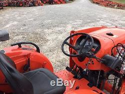 Kubota L4701HST tractor loader backhoe & 4n1 bucket FREE 500 MILE DELIVERY