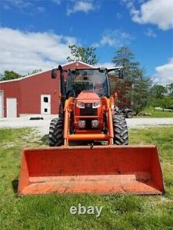 Kubota M110GX 4x4 1188 HrFREE 1500 MILE DELIVERY FROM NH
