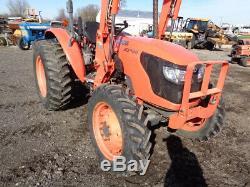 Kubota M5040 Tractor, 4WD, LA1153 FL SSL QA, 8 Speed, 1,555 Hours