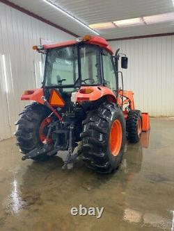 Kubota M6040 Cap 4wd Tractor Loader With A/c And Heat