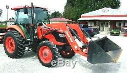 Kubota M6040 with Loader Hyd. Shuttle 4x4 (FREE 1000 MILE DELIVERY FROM KY)