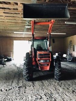 Kubota M9000 Tractor 4 By 4 With Woods Loader