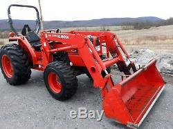 Kubota MX5000D LA852 Loader 52hp 4x4 gear 974 original hrs. 1 owner R4 Tires used