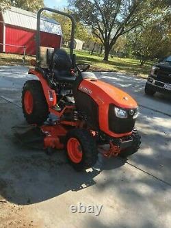 Kubota b-2301 tractor 4x4 22 hp used