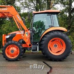 Kubota m7060 tractor with loader. 1 owner! DELIVERY AVAILABLE