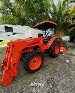 Kubota tractor 2020 With Warranty, Grapple & Mower Attach/ OWNER FINANCING! A+