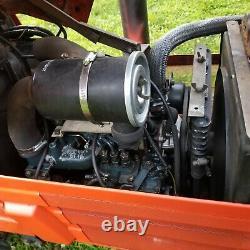 Kubota tractor 4x4 HST diesel B1550