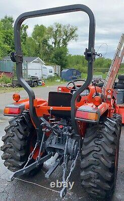 Kubota tractor L3901 Electrical Fire Damage. Needs Repairs