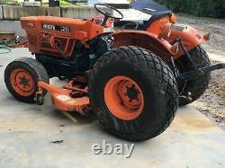 Kubota tractor model L235 DT 4 wheel drive