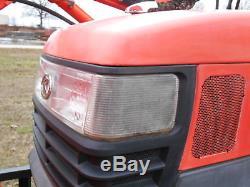 L2800DT Kubota 4wd Tractor/Loader/Trailer/Bush Hog/Boxblade/ Tiedowns/Package