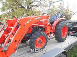 L3200D Kubota 4wd Tractor/Hydrostatic Transmission/Kubota Loader
