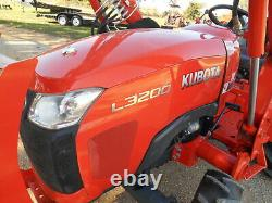 L3200D Kubota 4wd Tractor/Loader/ NEW Trailer/Used BushHog and Boxblade/Tiedowns