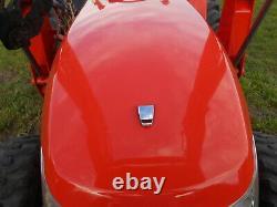 L3200D Kubota 4wd Tractor with LA524 Kubota Loader