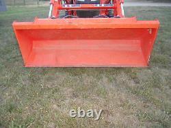 L3901D Kubota 4wd Tractor/Loader/ NEW Trailer/NEW BushHog and Boxblade
