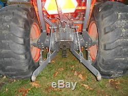 L4400D Kubota 4wd Tractor/Gear Drive