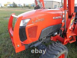 L4701HST Kubota 4wd Tractor with Loader/2015 Model/250 Hours