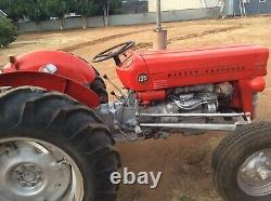 Late 1965 tractor, Massey Ferguson 135, 3 pt hitch, And Gannon
