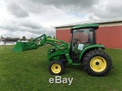 Loader Tractor 2011 JOHN DEERE 4320