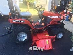 MASSEY FERGUSON Tractor GC 2300 4x4 DIESEL Mid MOWER 23Hp
