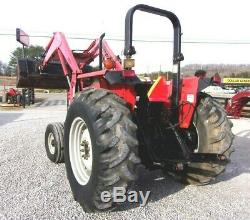 MF 492 Tractor with Qt Loader & bucket -99 hp SHIPPING AVAILABLE AT $1.85/MILE