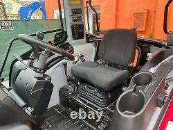 Mahindra 3550CL Loader with 76 GP Bucket, AC/HEAT 3-Range Hydrostatic Transmission