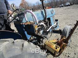 Massey Ferguson 135 Utility Tractor with Sickle Bar NICE! RUNS EXC VIDEO
