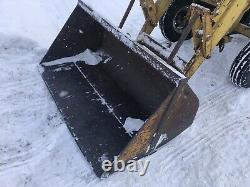 Massey Ferguson 202 Industrial Tractor Loader Bucket Blade Winch 3 pt chains Pto