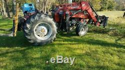 Massey Ferguson 255 Farm/Utility Tractor Diesel 2WD W Hardey 65 Loader 1006 Hrs