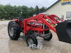 Massey Ferguson 275 Diesel Tractor With Front Loader