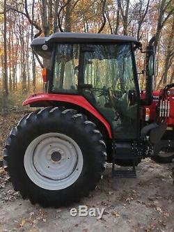 Massey Ferguson 4608 4X4 Diesel Loader Tractor PTO Farm Shuttle Shift Low Hours
