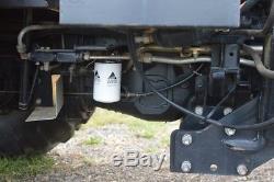 Massey Ferguson 471 4x4 cold air loader shuttle joystick 1136 hours