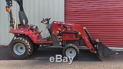 Massey Ferguson GC1705 Tractor 4x4