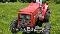 Massey Ferguson Tractor 1433 + Woods PRD 72 Rear Mower