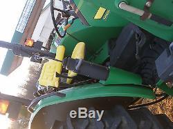 Nice John Deere 5220 4 X 4 Loader Tractor