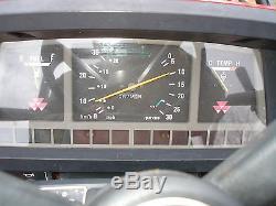 NICE MASSEY FERGUSON 1240 4x4 DIESEL LOADER TRACTOR