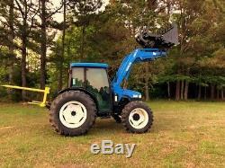 New Holland 4x4 Tractor Loader Cab john deere kubota massey ferguson mahindran