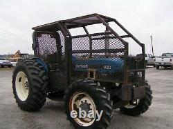 New Holland / Ford 5030 Farm Tractor 4x4 65 HP Forestry Package Price Reduced