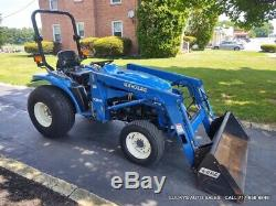 New Holland TC33 Tractor 7308 Loader 4WD Diesel 30HP Mid PTO Rear Hydraulics