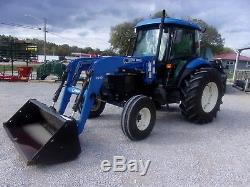 New Holland TD80D Tractor & Loader CAN SHIP @ $1.85 loaded mile
