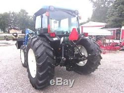 New Holland TN 70 DA with loader 4x4-Delivery @ $1.85 per loaded mile