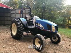 New Holland Tl80a Diesel Farm Tractor