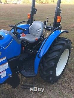 New Holland Workmaster 50 Tractor PTO Loader 4X4 Quick Attach Farm Shuttle Shift