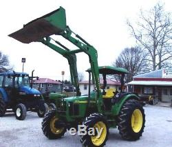 Nice! 2004 John Deere 5320 4x4 Tractor & Loader CAN SHIP @ $1.85 MIle
