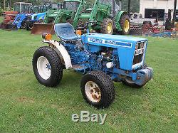 Nice Ford 1100 Diesel 4 X 4 Tractor