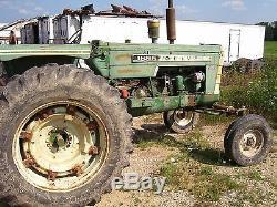 Oliver 1655 diesel tractor