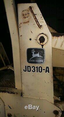 Running Working JOHN DEERE JD310-A Tractor Backhoe & Front End Loader Tractor