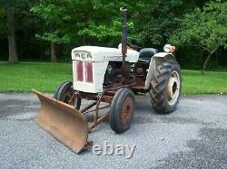 Satoh S-650-G tractor. Compact tractor, farm tractor
