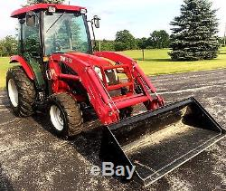 TYM T503 4x4 50 HP Tractor with Loader, Cab & Caterpillar Perkins Diesel Engine